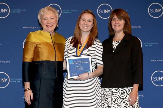 Mikayla R. Warren Chancellor's Award _-4551161990295827338