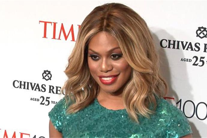 Laverne Cox Strips Down to Pasties & a Corset for 'Broadway Bares' Fundraiser_2201421950101047898