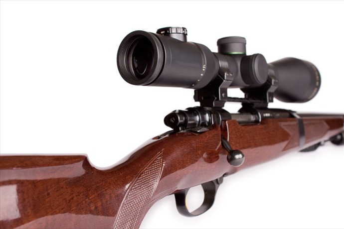 rifle sniper weapon scope isolated gun hunt carbine action aim aiming bolt caliber defense lens scoped shoot target_6050899727886142130