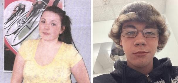 Runaway teens Katie Marie Loffler and Austin Eggleson