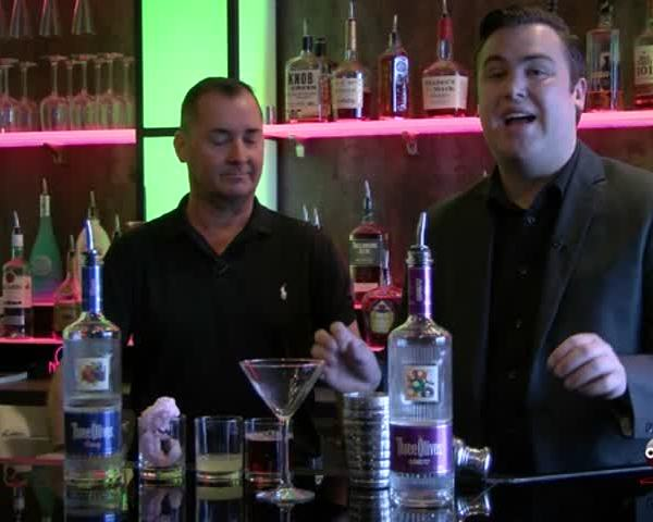 Behind The Bar: Cotton Candy Martini