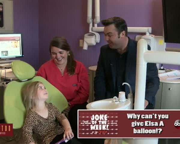 Joke Of The Week: Elsa's Balloon