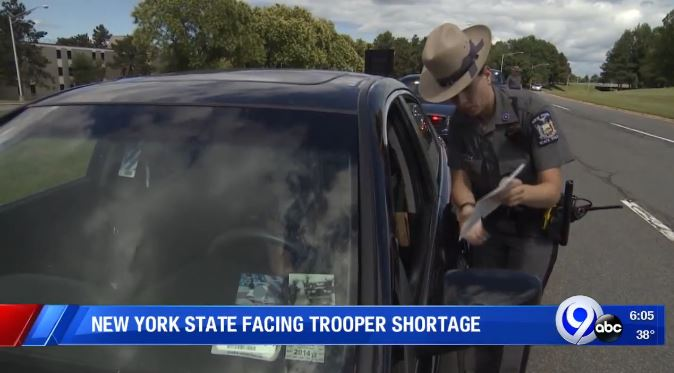 New York State facing trooper shortage