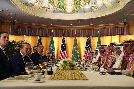 Donald Trump, Mohammed bin Salman
