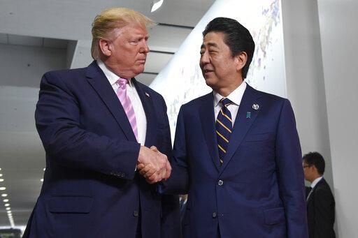 Donald Trump, Shinzo Abe