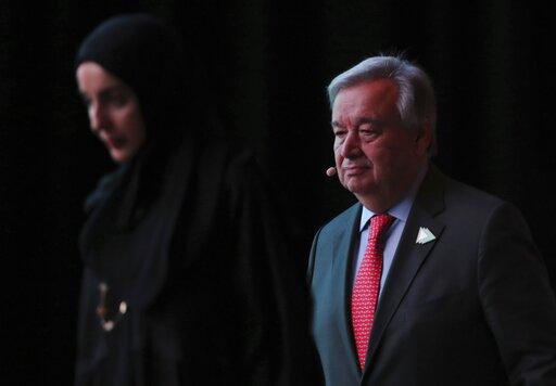 Antonio Guterres, Shamma Al Mazrim