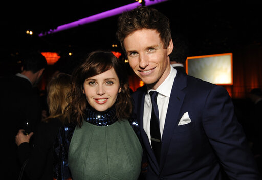 Felicity Jones, Eddie Redmayne