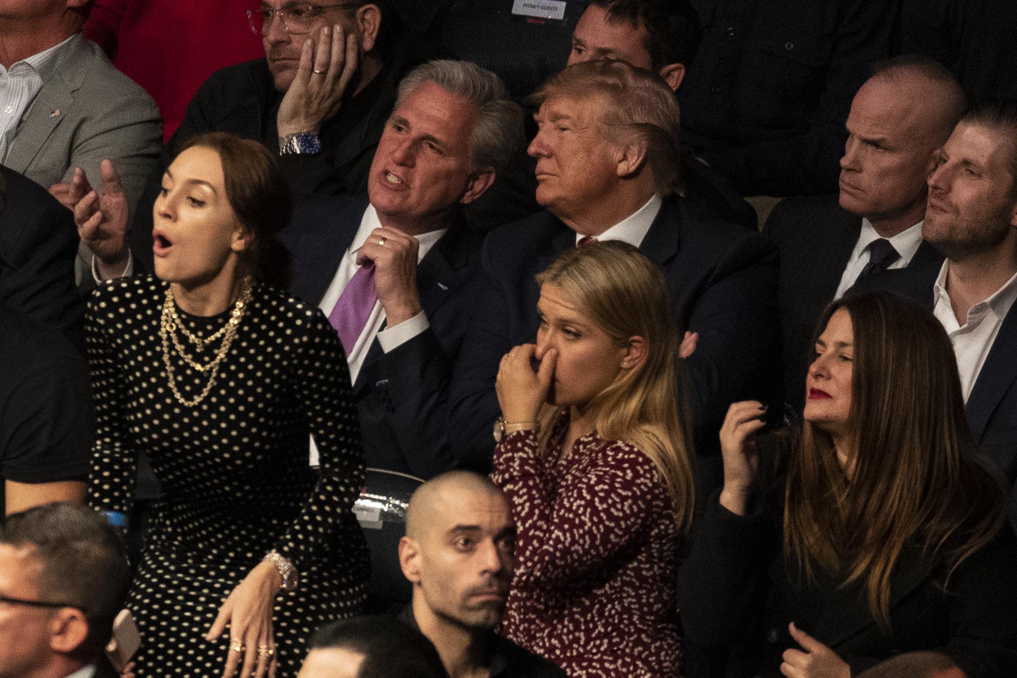 Donald Trump, Kevin McCarthy
