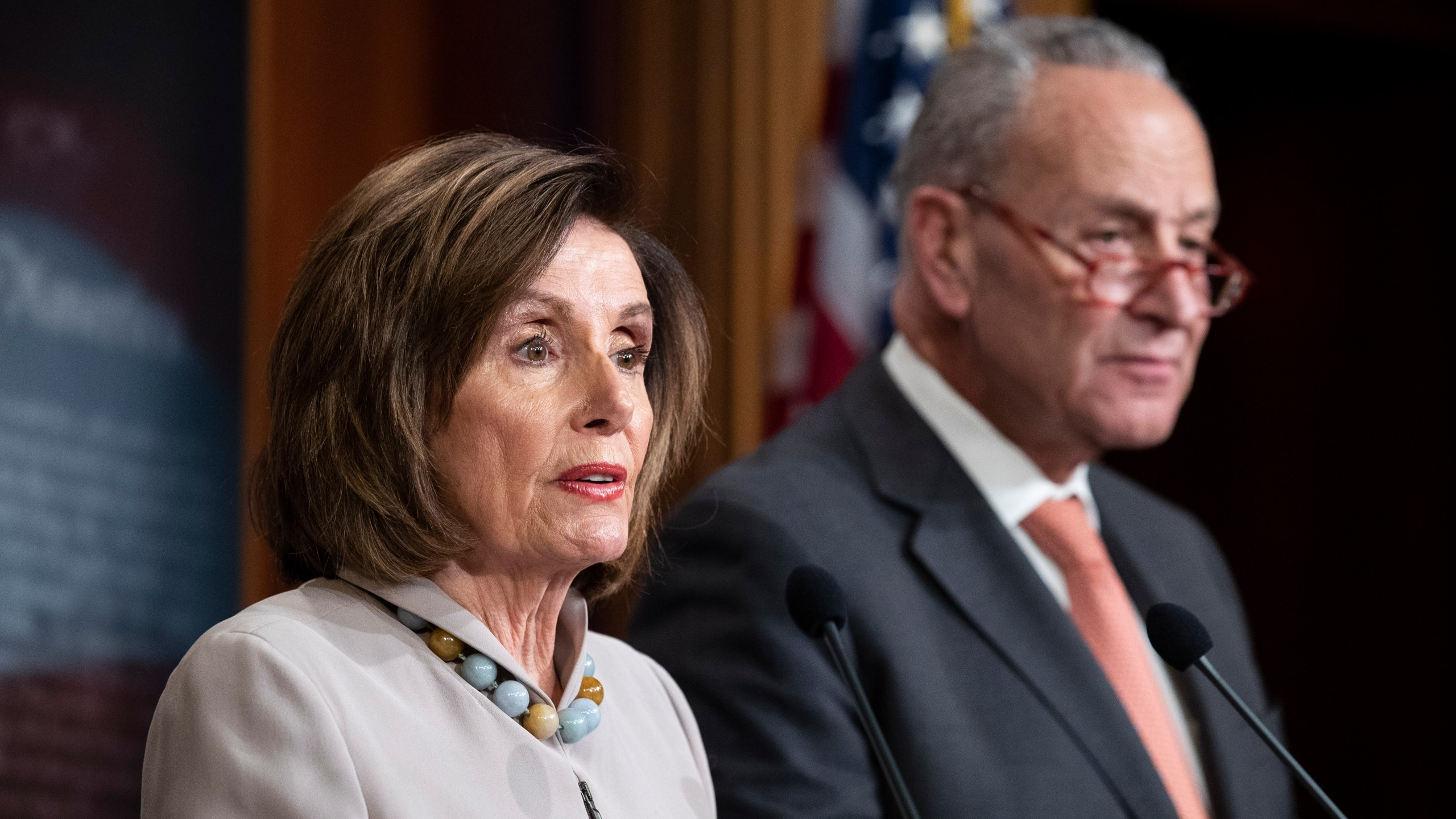 Nancy Pelosi, Chuck Schumer