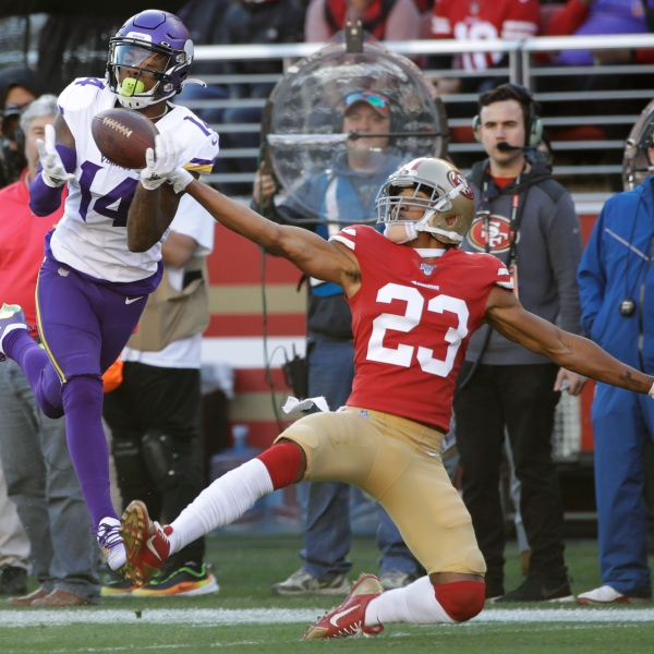 Ahkello Witherspoon, Stefon Diggs