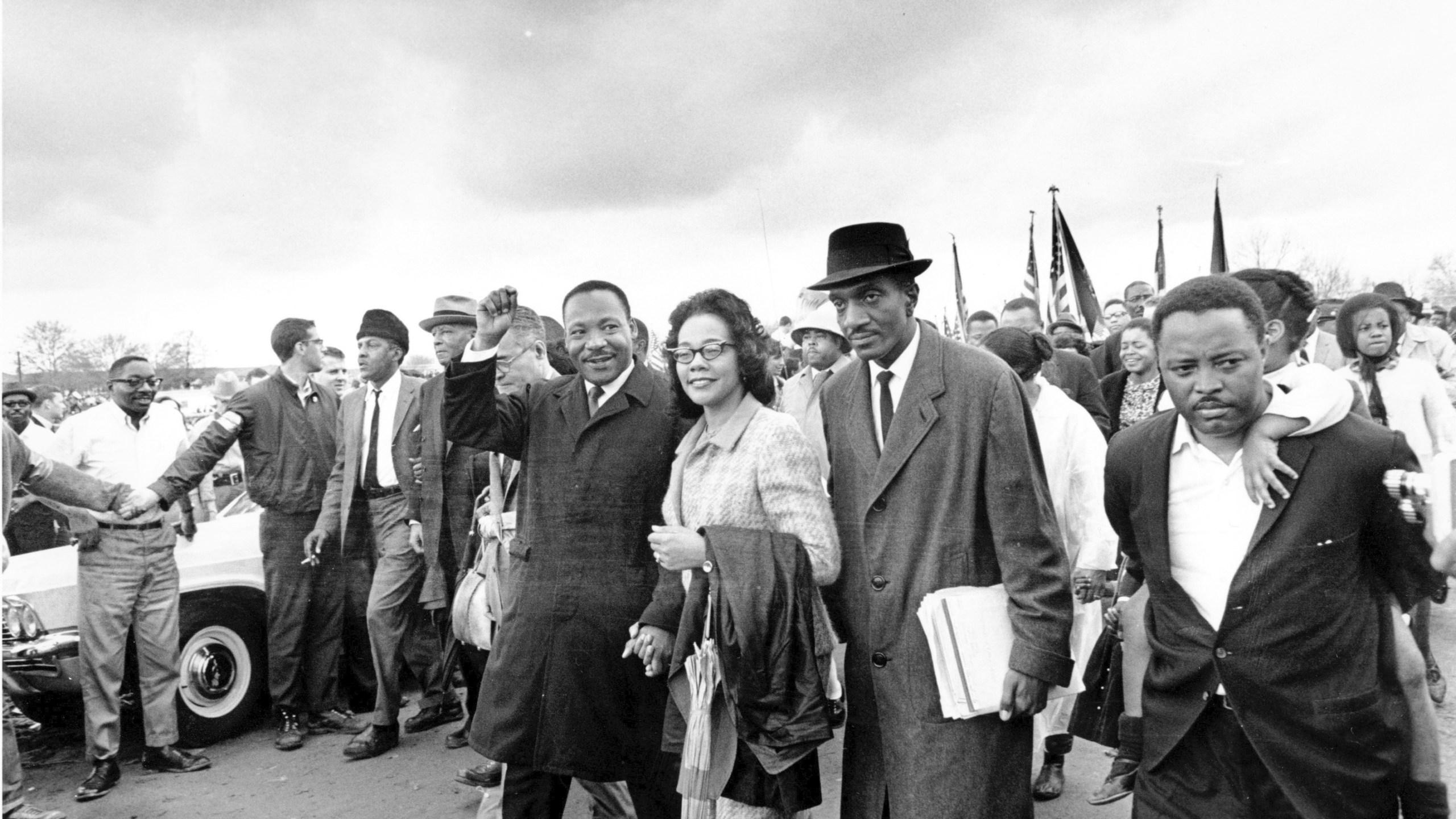Martin Luthur King Jr., Coretta Scott King