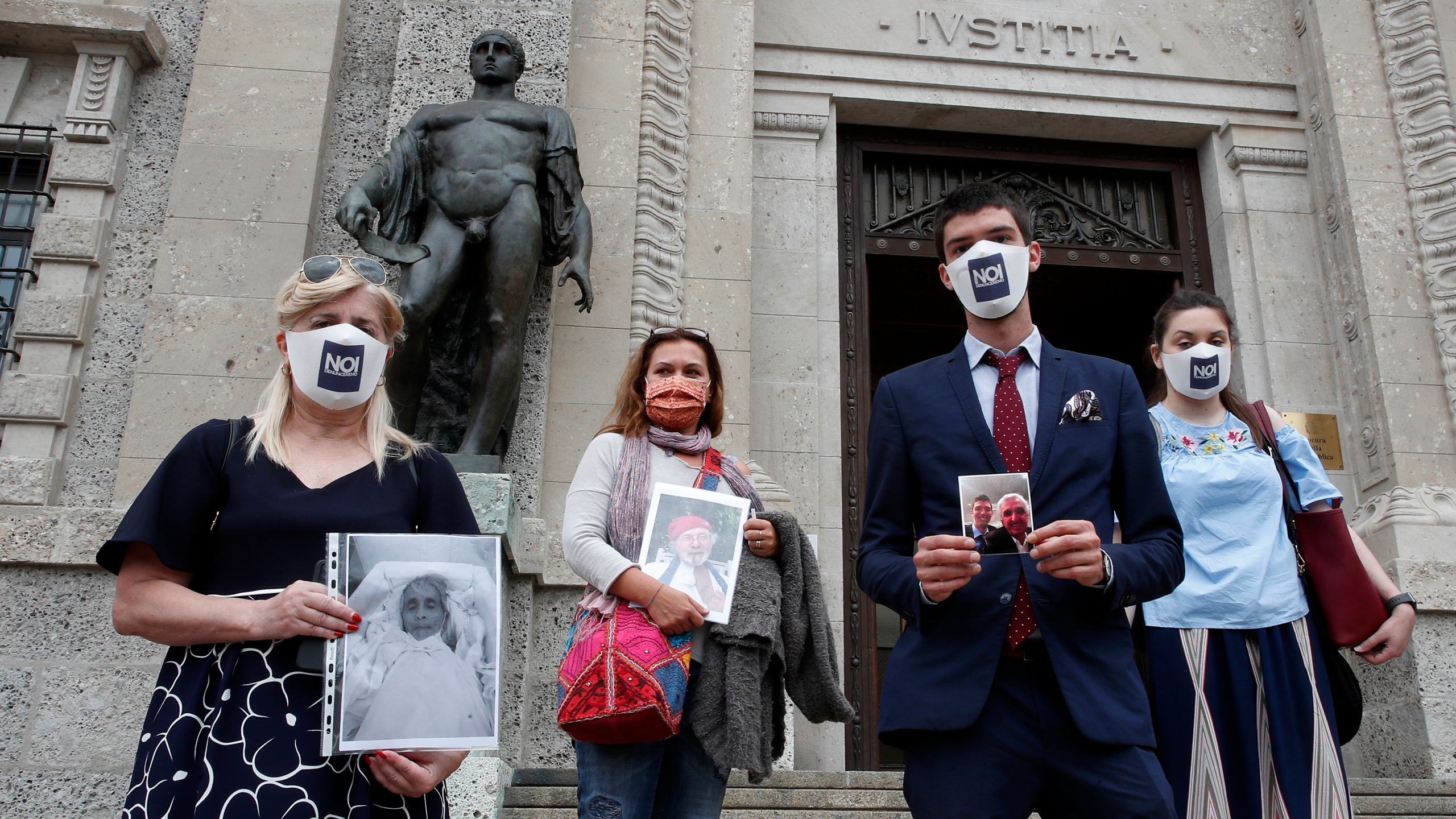 Halloween 2020 Day Opf Week Families of Italy's virus dead seek answers, solace, justice