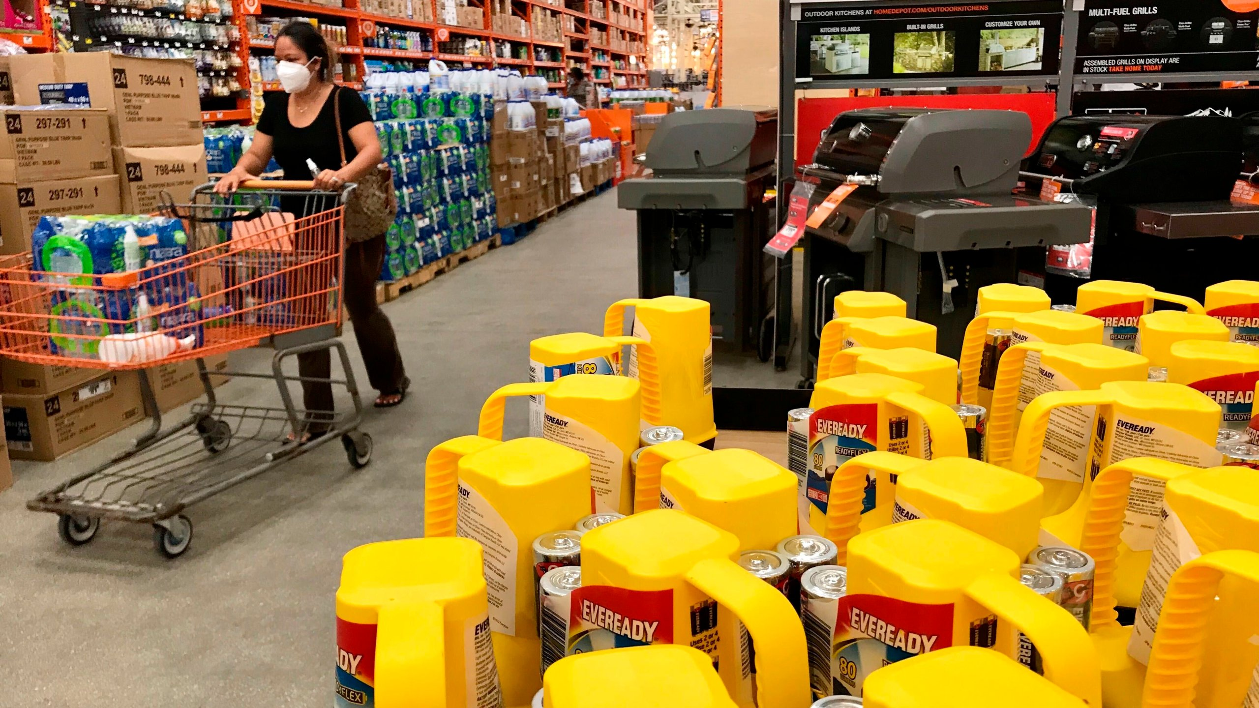 Path To Home Depot Becomes Familiar For Millions In Pandemic Wwti Informnny Com