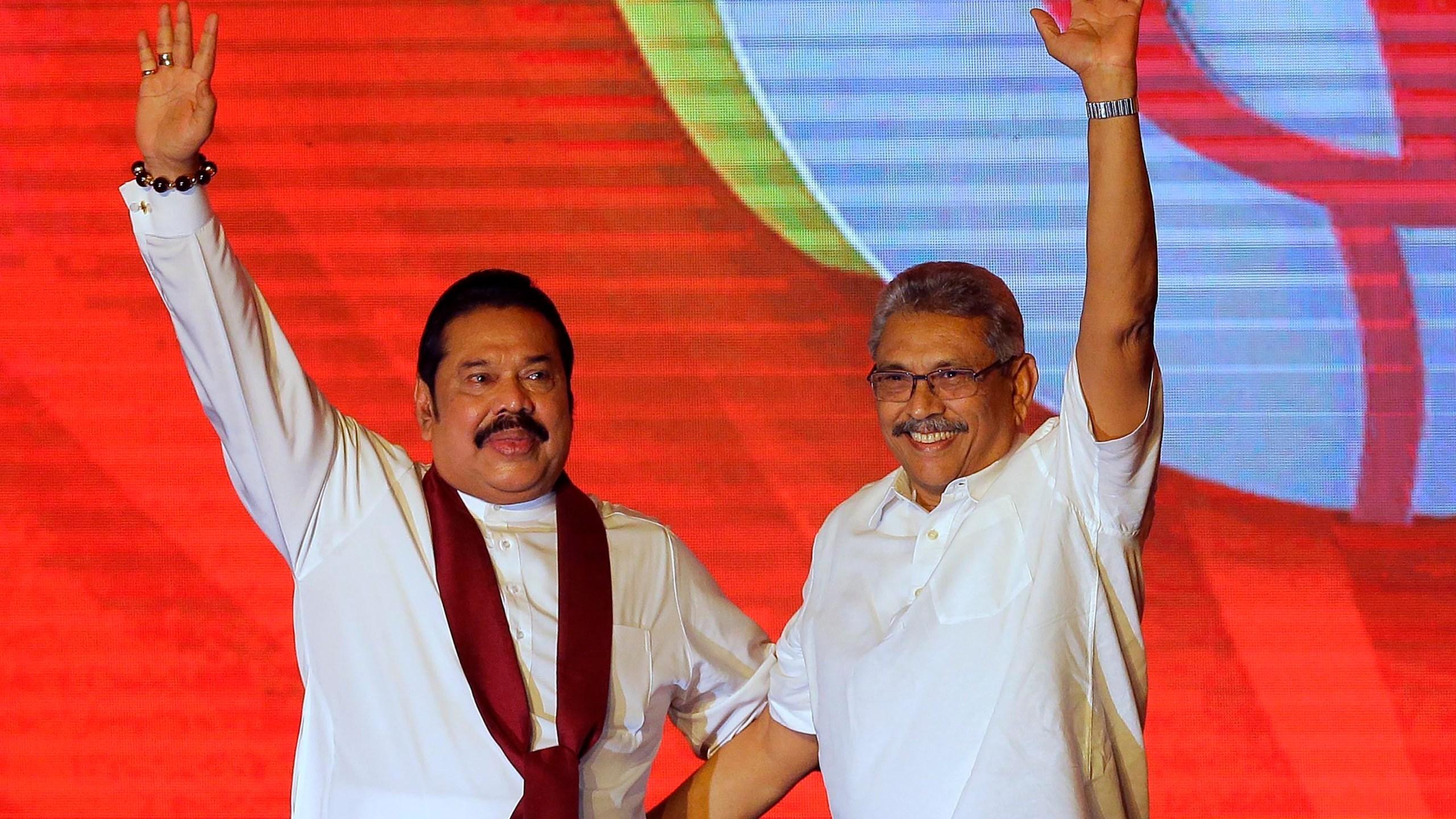 Gotabaya Rajapaksa, Mahinda Rajapaksa