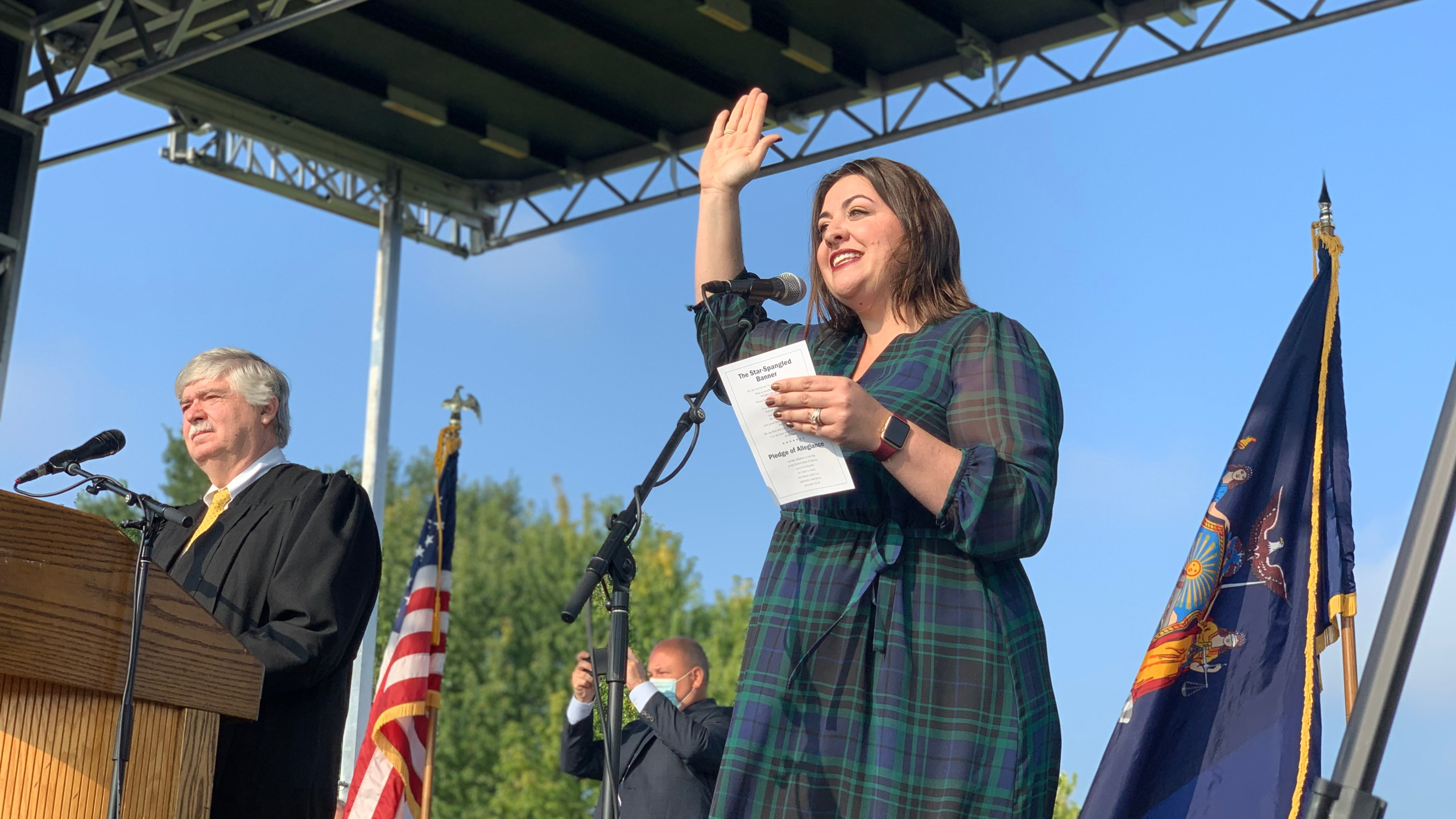 Halloween Rules 2020 Schenectady Schenectady hosts first drive in naturalization ceremony in New
