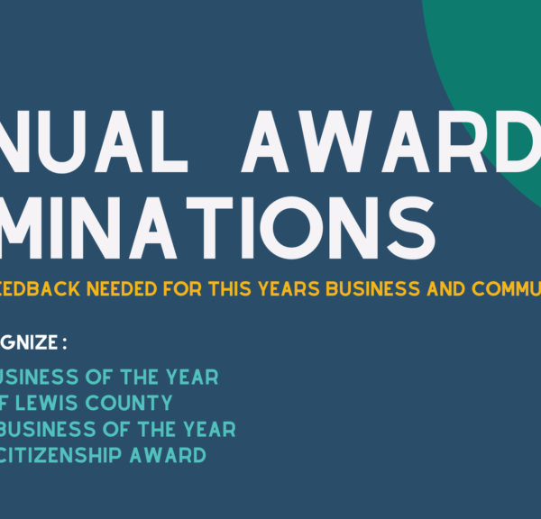 Lewis County Chamber Annual Award Nominations