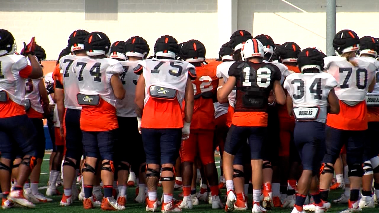Camp coming to a close for Syracuse football