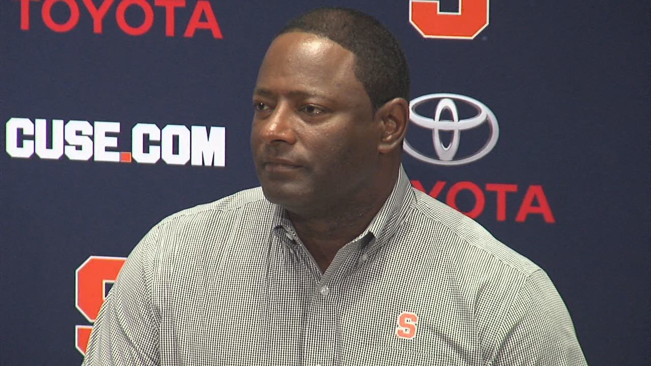 WATCH: SU football coach Dino Babers holds game-week press conference ahead of Saturday's game at Ohio