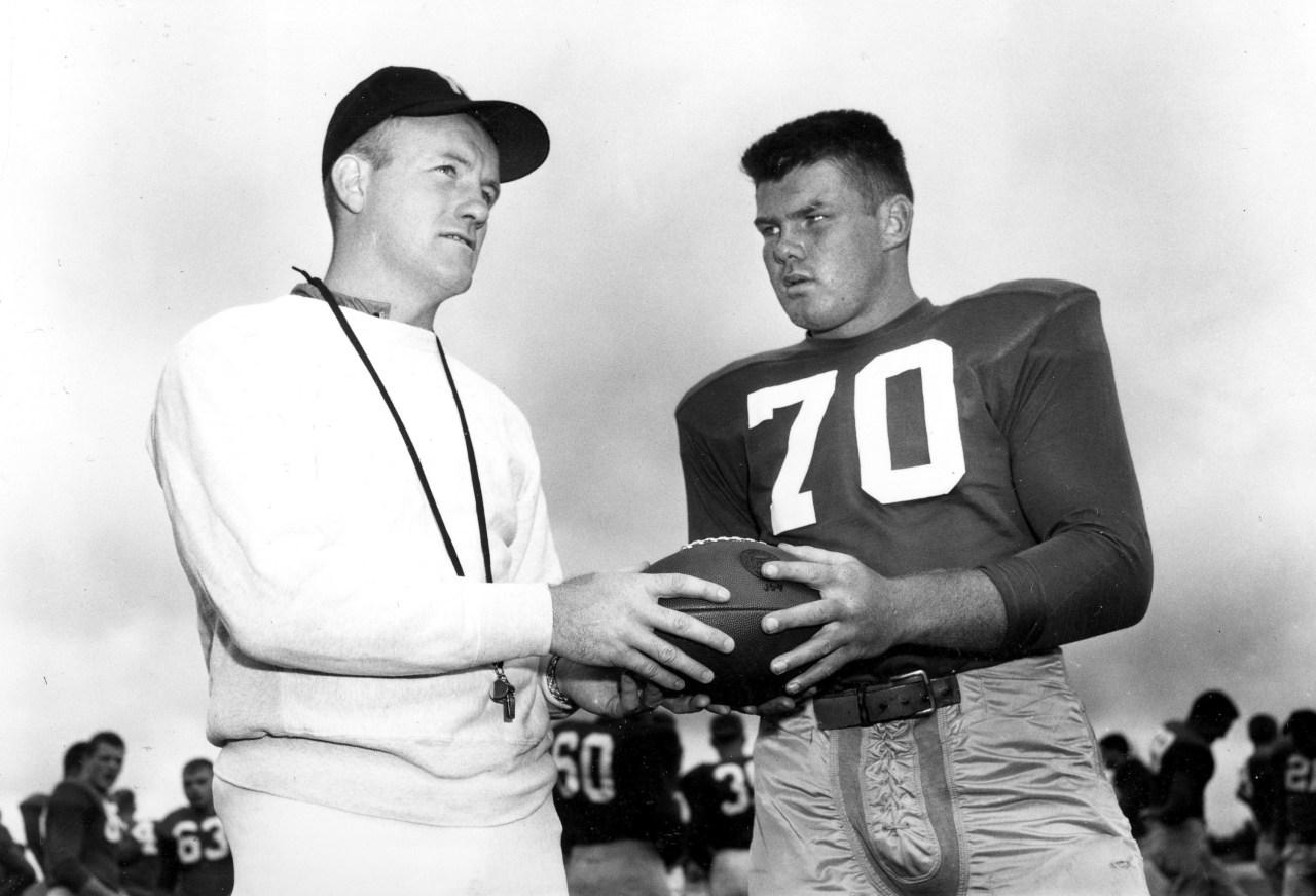 Former Notre Dame football star, coach Brennan dies at 93