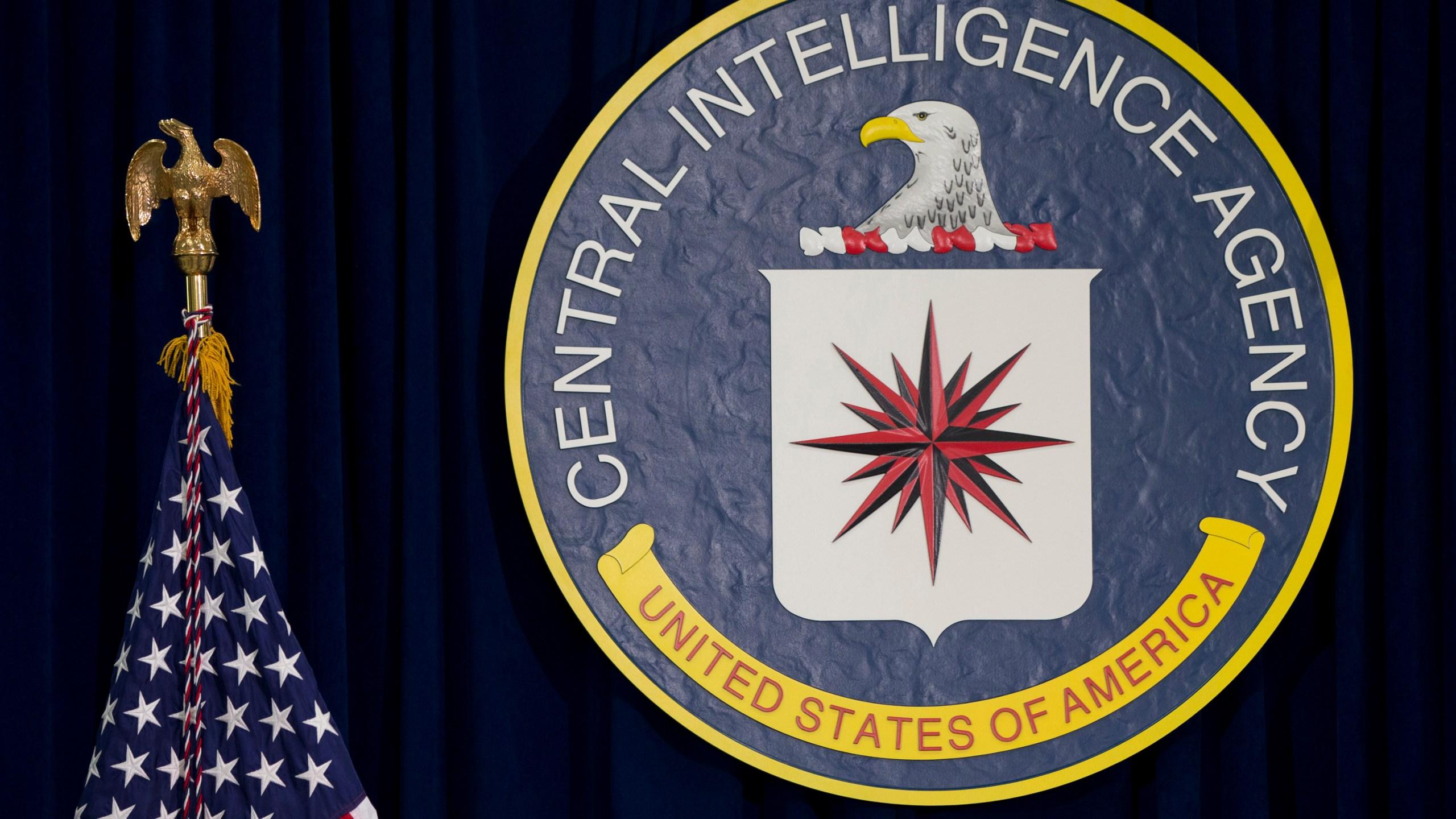 Central Intelligence Agency seal, CIA seal, logo